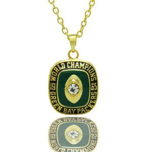 USA Green Bay Packers 1965 Pendant Necklace